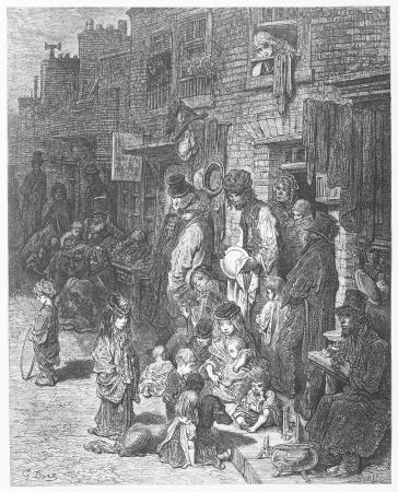 pilgrimage: Wentworth Street - Gustave Dore s 1872 London  a Pilgrimage