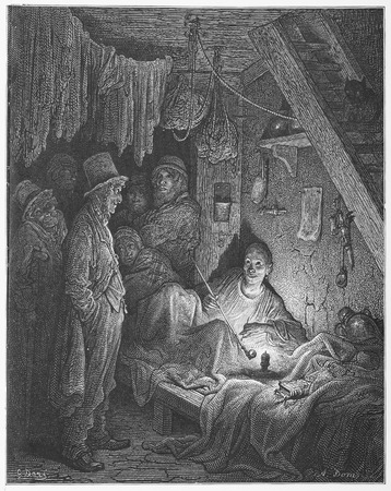 time sensitive: Opium Smoking - Gustave Dore s London  a Pilgrimage Editorial