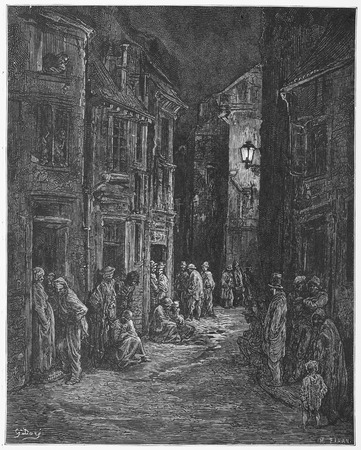 Blue Gate Fields - Gustave Dore s London  a Pilgrimage