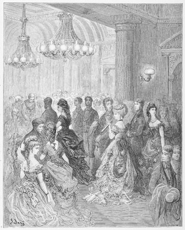 A Ball at the Mansion House - Gustave Dore s London  a Pilgrimage