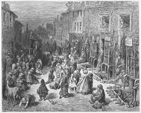 Dudley Street, Seven Dials - Gustave Dore s London  a Pilgrimage