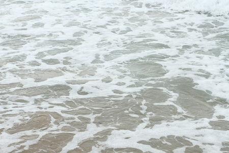foamy: Sea shore foamy water
