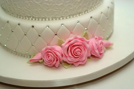 Pastel de bodas Foto de archivo - 4445449