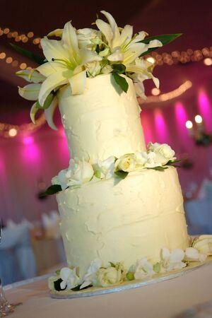 Pastel de bodas. Foto de archivo - 5187233