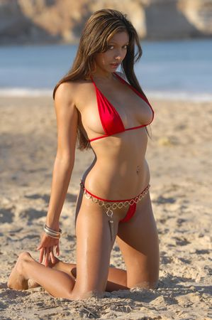 Bikini sexy girl Foto de archivo - 5484395