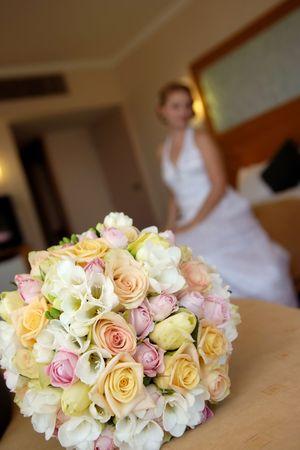 Wedding bouquet  Foto de archivo
