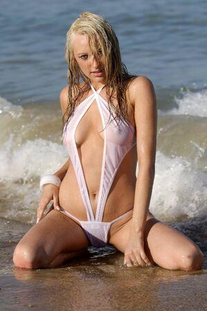 Sexy bikini girl Stock Photo - 9998174