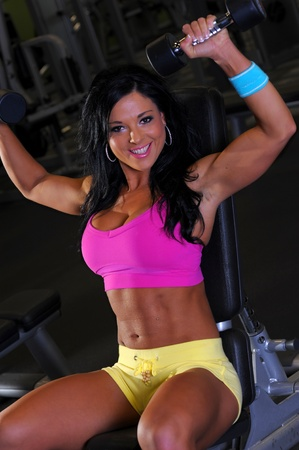 Sexy fitness girl Stock Photo - 12373522