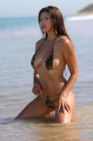 Sexy bikini girl  photo