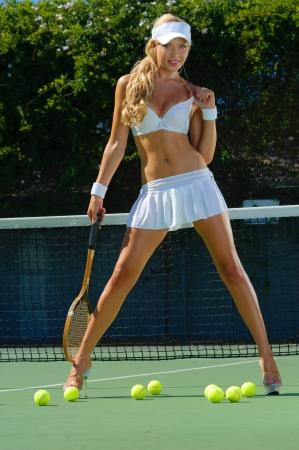 hotbabe: Sexy tennis girl