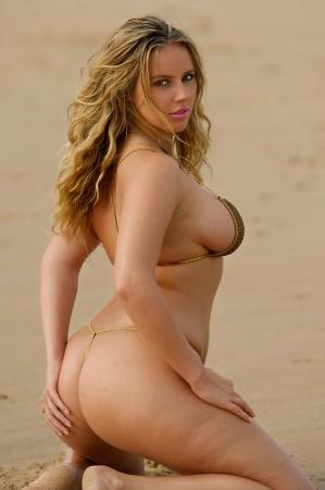 provocative: Sexy bikini girl