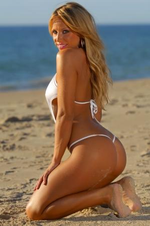 Sexy beach bikini