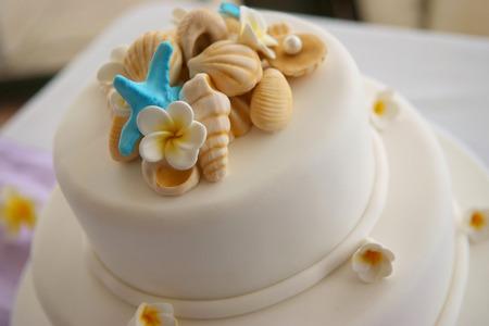 wedding cake: Decorated Wedding cake