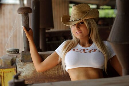 Sexy Cowgirl photo