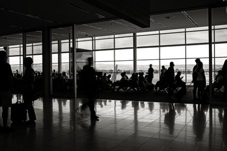 Airport depature lounge Foto de archivo - 102757651