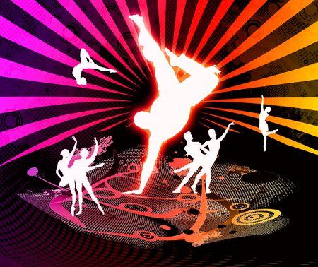 danse - partie