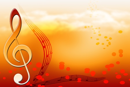 simbolos musicales: Notas clave
