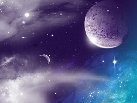 free space: universe