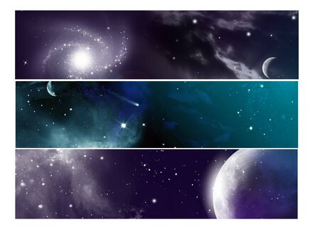 universe banner set photo