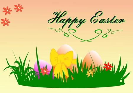 easter eggs Stock Vector - 12115288