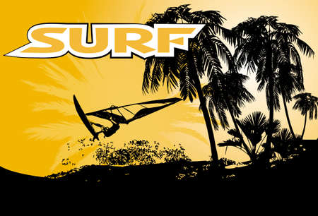 undulate: surf background