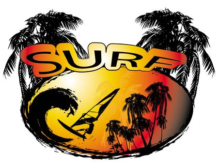 surfers: surf, summer background