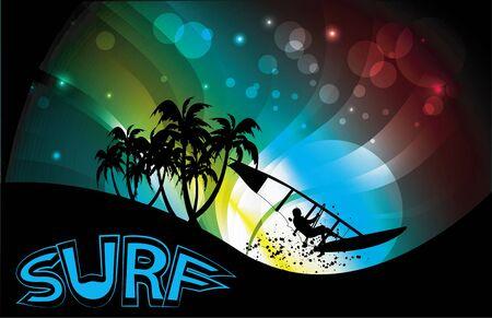 surfers: surf background