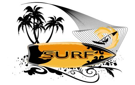 undulate: surfboard background