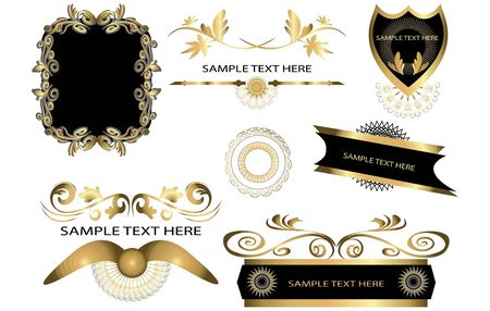 design elements Stock Vector - 16251332