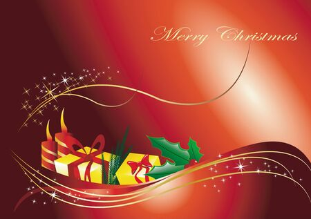 christmas background Stock Vector - 16453884