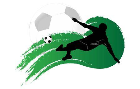 footbal: football background