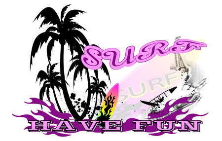 surf background Stock Vector - 17814472