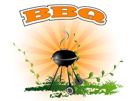 BBQ background