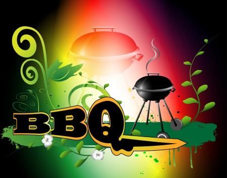 BBQ background