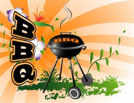 BBQ background Stock Vector - 20128411