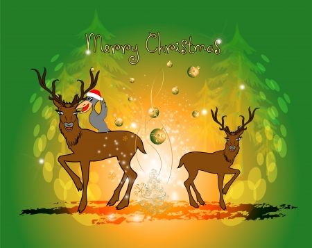 Funny christmas cartoon
