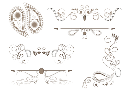 Design elements for page Ilustracja