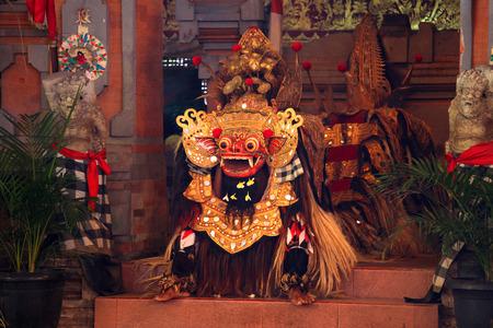 Balinese Barong Dance Stock Photo