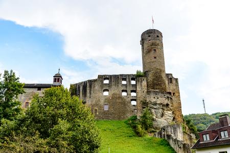Burg ruine castle Eppstein in Taunus. Hesse (Hessen), Germany. Nearby Frankfurt am Main, Wiesbaden.
