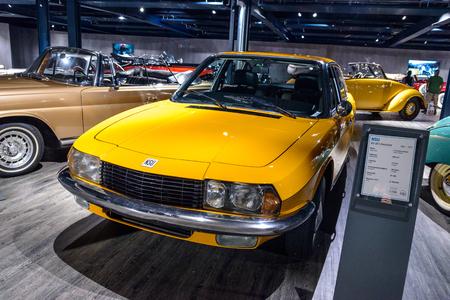 7 July 2019 - Museum EFA Mobile Zeiten in Amerang, Germany: NSU RO 80 Limousine 1967 -1977. Retro car, oldtimer