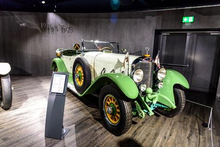 7 July 2019 - Museum EFA Mobile Zeiten in Amerang, Germany: Mercedes Benz 630 K 1926 - 1929. Retro car, oldtimer Redactioneel