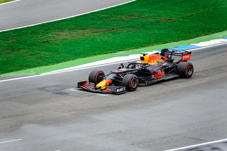 Formula 1 German GP in Hockenheim 28 July 2019: Red Bull, Max Verstappen Editorial