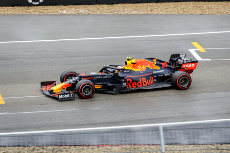 Formula 1 German GP in Hockenheim 28 July 2019: Red Bull, Pierre Gasly Editorial