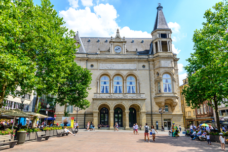 Luxembourg - 24 Juli 2018: Luxembourg city, Cercle Cite, cultural Center. Luxemburg Editorial