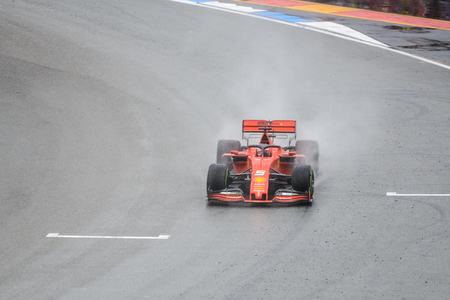 Formula 1 German GP in Hockenheim 28 July 2019: Ferrari, Sebastian Vettel Editorial