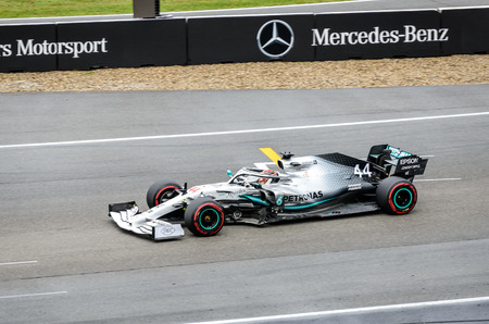 Formula 1 German GP in Hockenheim 28 July 2019: Mercedes, Lewis Hamilton
