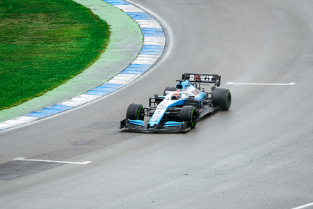 Formula 1 German GP in Hockenheim 28 July 2019: Rokit Williams Racing, George Russell
