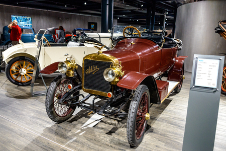 7 July 2019 - Museum EFA Mobile Zeiten in Amerang: Adler K 513 Cabrio 1911 - 1920. Retro car, oldtimer