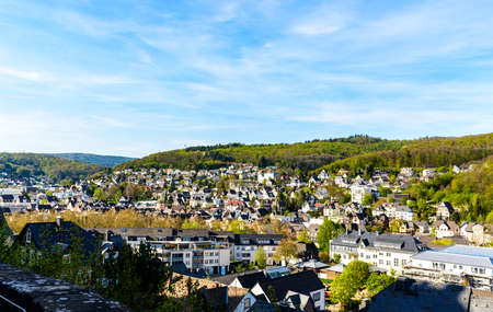 Panorama view from Dillenburg Castle. Hessen, Germany.