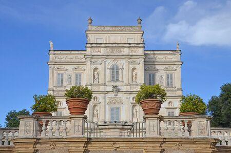 historical periods: Villa Pamphili in rome, italy